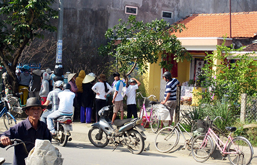 Ngôi nhà của ông Cương, nơi xảy ra sự việc vào sáng 3.1.2014.