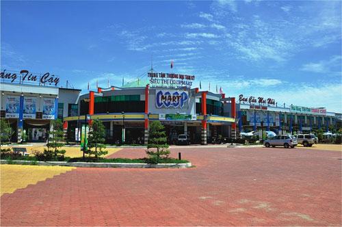Siêu thị Co.opMart Tam Kỳ.