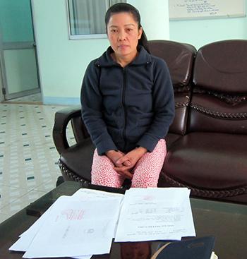 Chị Nguyễn Thị Ngân.