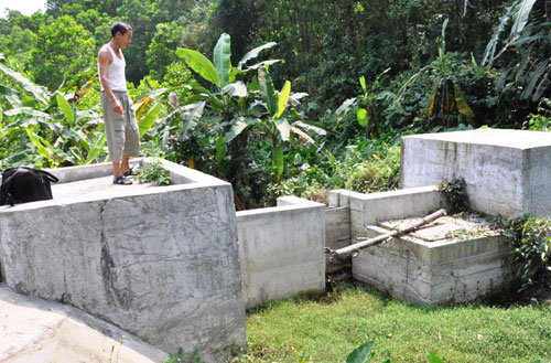 Hệ thống nước sạch thôn Trường Thạnh trị giá tiền tỷ xây xong rồi bỏ đó.