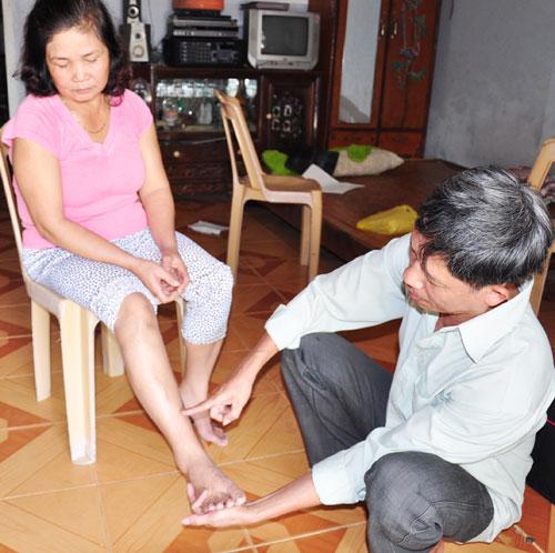 Ông Đoàn Kim Tính cho rằng các đối tượng gây thương tích cho vợ ông hơn 3 năm chưa được pháp luật xử lý. Ảnh: T.T