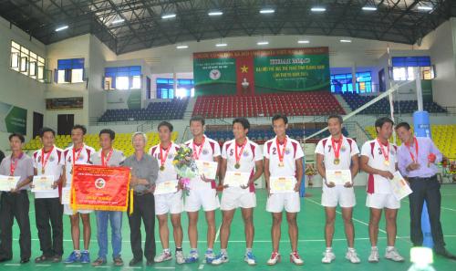 Đội Biên phòng tỉnh nhận huy chương vàng.