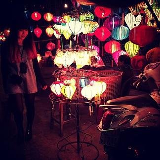 Lanterns:  a soul beauty of Hoi An by night