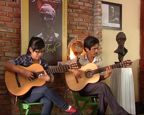 Một đêm nhạc tưởng nhớ Trịnh do Hội Văn học - nghệ thuật TP. Tam Kỳ tổ chức.