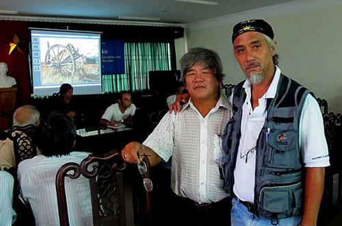 Thông qua photo tour, các nghệ sĩ nhiếp ảnh Quảng Nam ngày càng có thêm những người bạn biết đồng cảm, chia sẻ.Ảnh: D.Phú Tâm