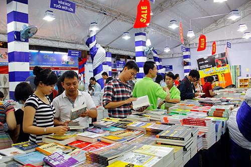 Một ngày hội sách được tổ chức tại TP.Hồ Chí Minh.