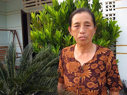 Nữ Bí thư Chi bộ tổ dân phố Đồng Trường II - Võ Thị Xem.