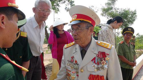 Anh hùng LLVTND Trần Văn Luyện, nguyên Tiểu đoàn tưởng Tiểu đoàn đặc công 409.