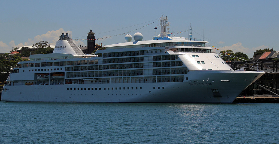 Silver Shadow - One of the most luxurious cruise of the Silversea Cruises.