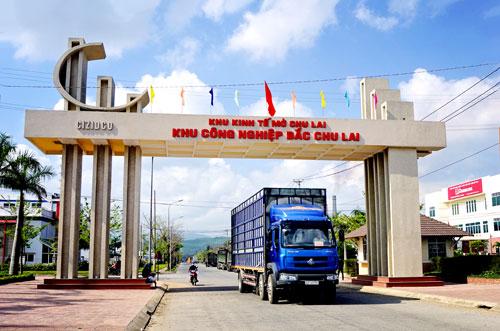 Một trong những KCN phát triển hiệu quả ở Quảng Nam. Ảnh: PHƯƠNG THẢO