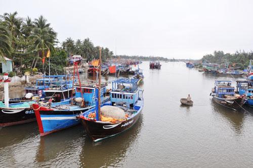 Kinh tế biển góp phần tăng trưởng kinh tế chung ở Quảng Nam.