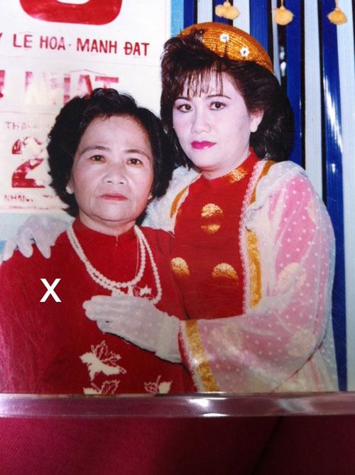 Chân dung bà Nguyễn Thị Mai (x) lúc còn trẻ - Ảnh do ông Tăng Minh Dũng cung cấp.