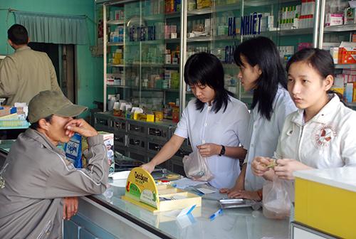 Một nhà thuốc được công nhận đạt chuẩn GPP ở Quảng Nam. Ảnh: CHÂU NỮ
