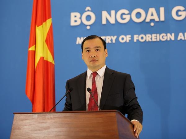 Người phát ngôn Bộ Ngoại giao Việt Nam Lê Hải Bình. (Nguồn: Bộ Ngoại giao)