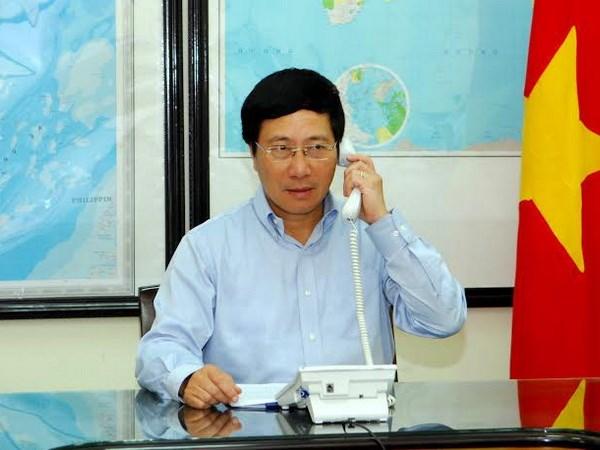 Phó Thủ tướng Chính phủ, Bộ trưởng Ngoại giao Phạm Bình Minh (Nguồn: Bộ Ngoại giao)
