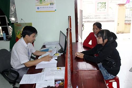 Cải cách hành chính ở BHXH huyện Tiên Phước nhằm phục vụ nhân dân tốt hơn.