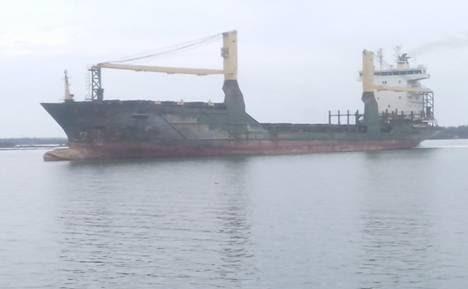 Truong Hai 3 container ship.