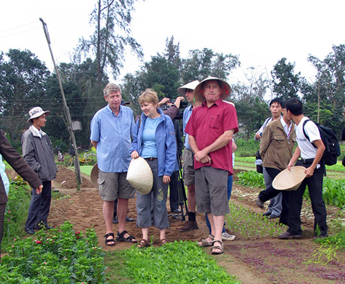 "Tra Que vegetable  village is the first place to be built  as the  ""community-based tourism"" model of Hoi An city."