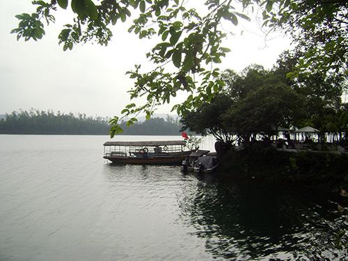 Hồ Phú Ninh sẽ là điểm nghỉ ngơi hấp dẫn trong những ngày hè nắng nóng.