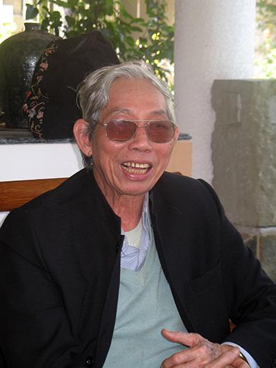 Nhạc sĩ Thuận Yến (tại Hội An, năm 2011).