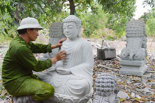 Xưởng điêu khắc đá Ganesa đã trở thành điểm đến quen thuộc của du khách quốc tế.