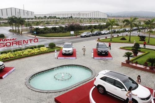 Thaco đã vươn lên vị trí dẫn đầu tại thị trường ô tô Việt Nam trong 5 tháng đầu năm 2014.Ảnh: DIỄM LỆ