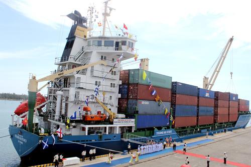 Sự kiện tàu Truong Hai Star3 đi vào hoạt động giúp Thaco nâng tầm dịch vụ logistics.