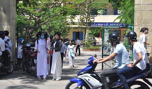 Trường THPT Phan Bội Châu. Ảnh: X.PHÚ