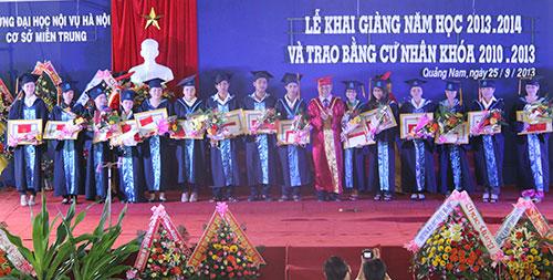 Cơ sở miền Trung Trường Đại học Nội vụ Hà Nội - một trong những cơ sở đào tạo phát triển nguồn nhân lực nội vụ đạt chất lượng hiện nay. (X.L)