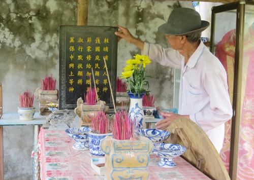 Dinh Bà là nơi thờ cúng, tế lễ thu hút hàng ngàn du khách thập phương trẩy hội mỗi năm.Ảnh: B.LIÊN