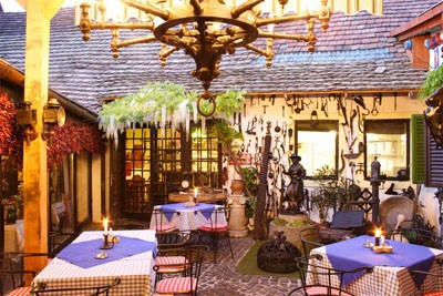 The Rab Ráby restaurant in Szentendre - an attractive destination for dinner of Hungary,  was built in the  18th century