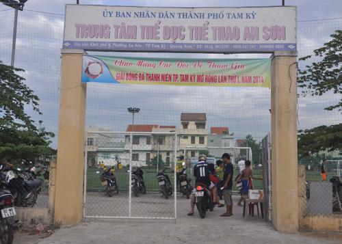 Trung tâm Thể dục - thể thao An Sơn.