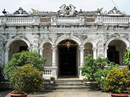 """Nhà cổ Huỳnh Thủy Lê - ngôi nhà được mệnh danh """"Người tình"""" ở Sa Đéc. Ảnh: S.ANH"""