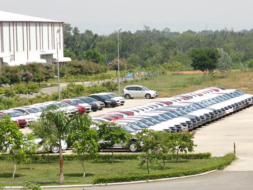Chu Lai và ô tô Trường Hải được chọn thí điểm đầu tiên về công nghiệp hỗ trợ ngành cơ khí. Ảnh: T.PHONG