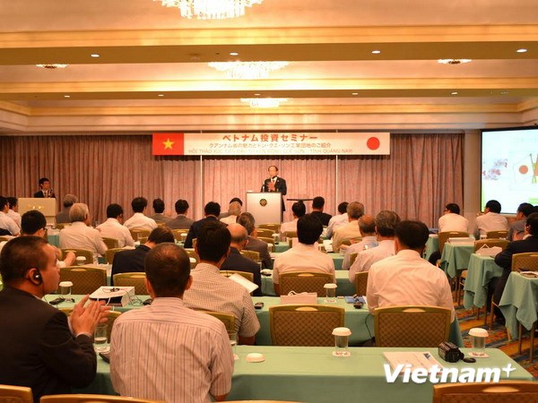 The overview of the conference. Photo: Tri Phuong/Vietnam+