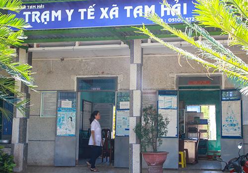 Trạm Y tế xã Tam Hải được ưu tiên đầu tư nâng cấp để cải thiện năng lực phục vụ nhu cầu khám chữa bệnh cho nhân dân. Ảnh: P.G