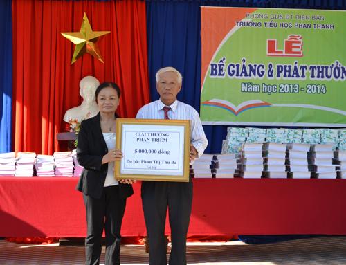 Xã hội hóa giáo dục đang được huyện Điện Bàn đẩy mạnh. Ảnh: P.L