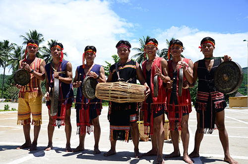 Young men of the ethnic villages.