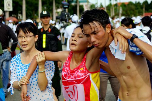 Giải Việt dã truyền thống Báo Quảng Nam qua các năm luôn diễn ra sôi nổi, hấp dẫn.Ảnh: TƯỜNG VY - PHƯƠNG THẢO