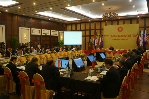 The 5th ASEAN Maritime Forum with representatives from all 10 ASEAN member countries.