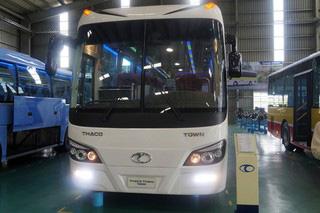 Sản phẩm mới của Thaco bus.