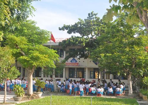 Trường Tiểu học Võ Thị Sáu.Ảnh: X.PHÚ