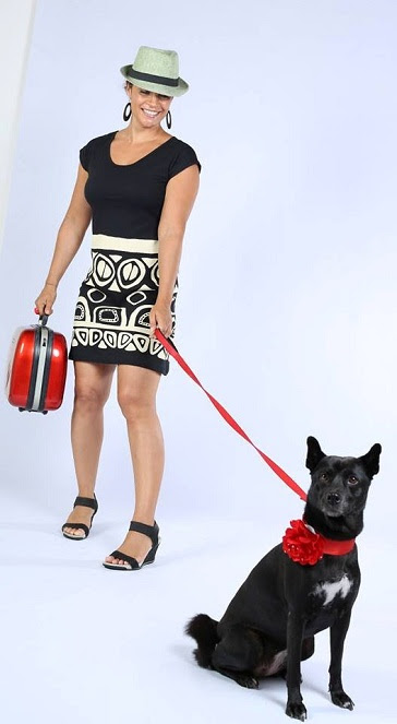 Chili, a dog with 5 years old, lovingly chosen as the mascot for the fashion brand to convey messages urging people to love and protect dogs.