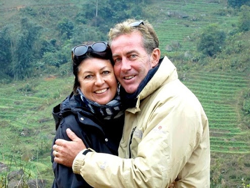 Besides their business, the couples Jennie and John Walsh also enjoy traveling and explore cultural regions in Vietnam.