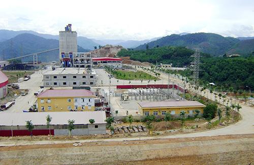 Dự án Nhà máy xi măng Thạnh Mỹ là một trong những dự án trọng điểm được hỗ trợ tích cực từ chính quyền địa phương.