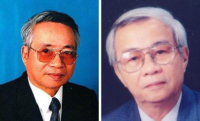 Nhà thơ Tường Linh và Nhà thơ Phạm Phát.