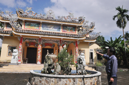 Một nhà thờ tộc ở Điện Bàn. Ảnh: VINH ANH