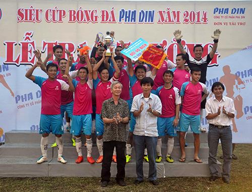 Đội Ngọc Khang đoạt siêu cúp Pha Din 2014
