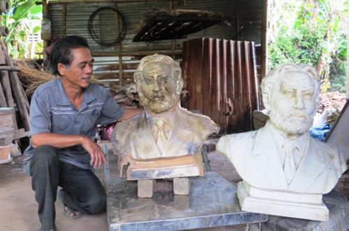 Sản phẩm được chế tác tại Phước Kiều của nghệ nhân Dương Ngọc Tiển. Ảnh: B.L