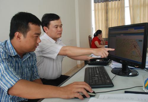 Ứng dụng công nghệ thông tin đã giúp Sở Thông tin - tuyền thông xây dựng môi trường hành chính hiện đại. Ảnh: ĐOÀN ĐẠO